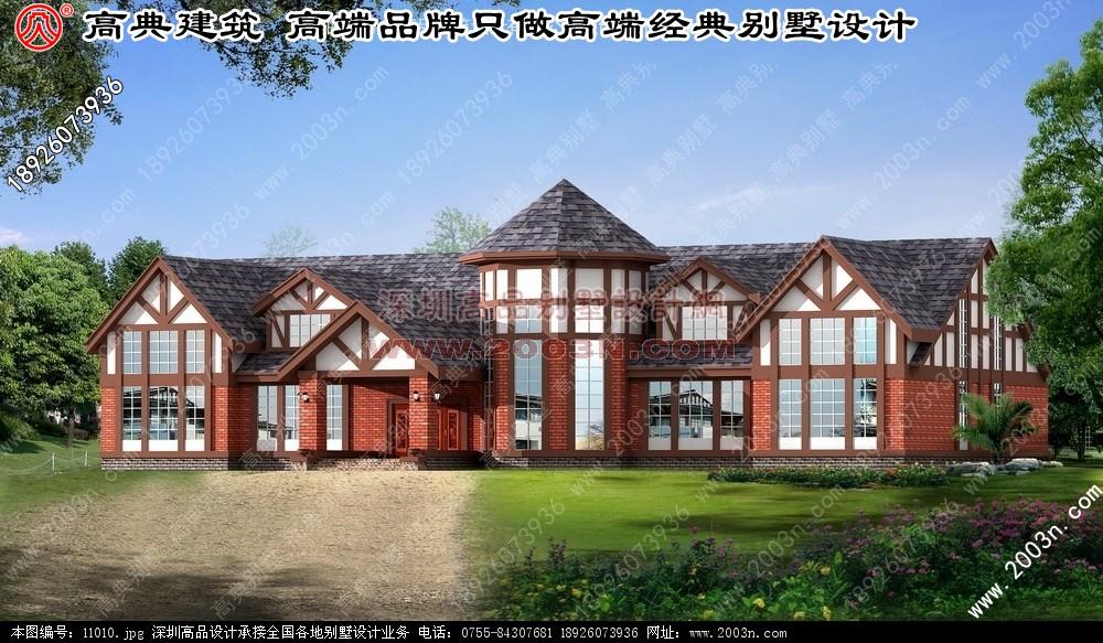 欧式别墅设计图纸   农村别墅设计图纸及效果图大全